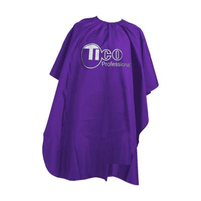 Накидка парикмахерская TICO Professional фиолетовая (M010VT)