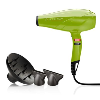 Фен для волос с ионизацией GAMA (ГАМА) Pluma 5500 Ion Verde (A11.PL5500ION.VR)