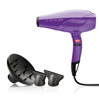 Фен для волос с ионизацией GAMA (ГАМА) Pluma 5500 Ion Viola (A11.PL5500ION.VL)