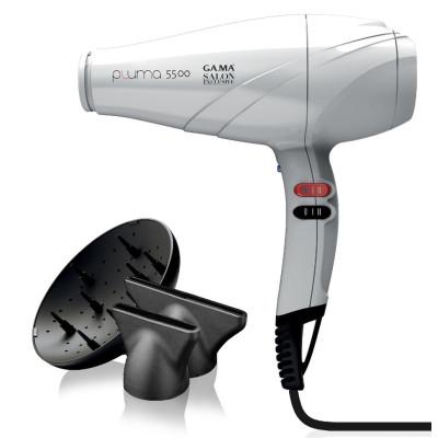 Фен для волосся професійний GAMA (ГАМА) Pluma 5500 Oxy-Active White (SH0902)