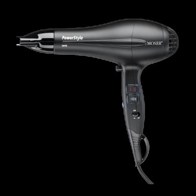 Профессиональный фен для волос Moser Power Style Black (4320-0050)