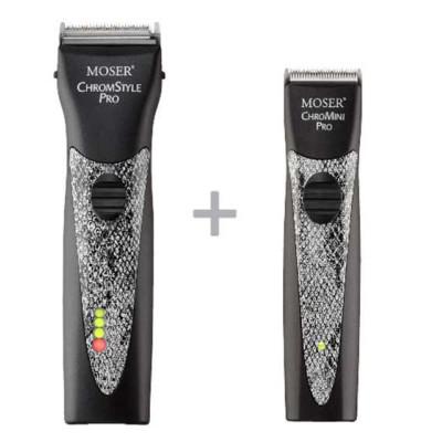Набор машинок MOSER ChromStyle Pro & ChroMini Pro SnakeStyle 1871-0077
