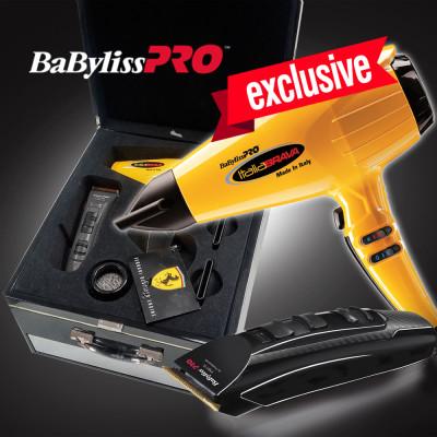 Набор BaByliss PRO ItaliaBrava + X2 Ferrary (BABFB2BE)