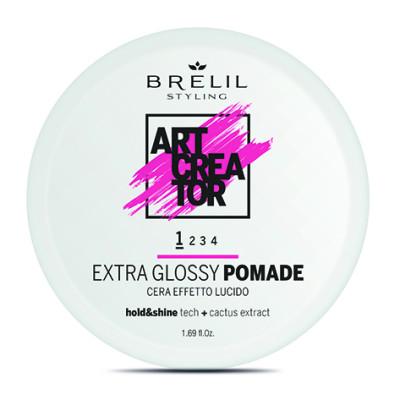 Помада для блеска Brelil Extra Glossy Pomade Art Creator 79308