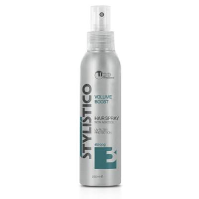 Жидкий лак для волос (лак-спрей) сильной фиксации TICO Professional Stylistico Volume Boost (40011)