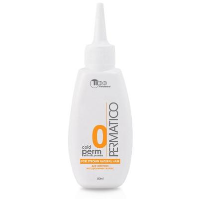 Лосьйон для хімічної завивки (для жорсткого, складнопідрядного натурального волосся) TICO Professional №0 Cold PERM 80 ml (50000)