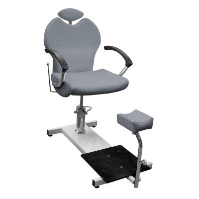 Кресло педикюрное BM 88105-791 Структурный серебристый