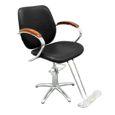 Кресло парикмахерское BM68124 Black