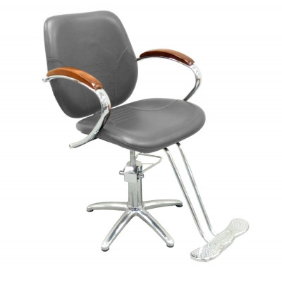 Кресло парикмахерское BM68124 Grey