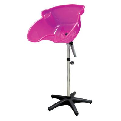 Мойка парикмахерская пластиковая TICO Professional розовая (000300-04)