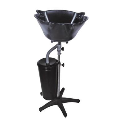 Мойка парикмахерская пластиковая с ведром для слива TICO Professional черная (000301-01)