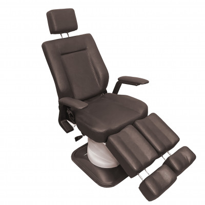 Кресло педикюрное BM88101-734 Коричневый жатый