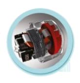 AC мотор с увеличенным ресурсом